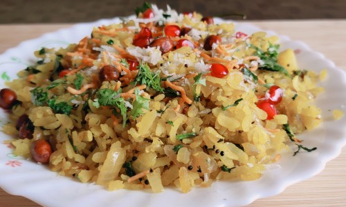 Mumbai ka Famous Kanda Poha Recipe